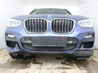 Защита радиатора ПРЕМИУМ BMW X3 3 (G01) 2017-2020