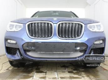 Защита радиатора BMW X3 3 (G01) 2017-2020