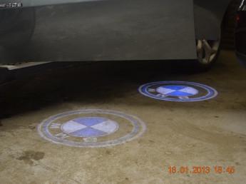 LED Проекции логотипа в дверь