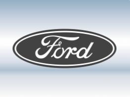 Наклейки на пороги Ford