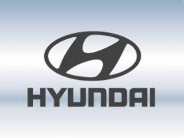 Наклейки на пороги Hyundai