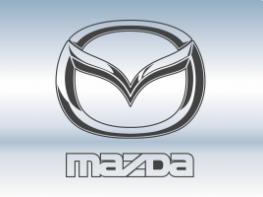 Наклейки на пороги Mazda
