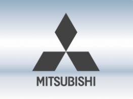 Накладки на задний бампер Mitsubishi