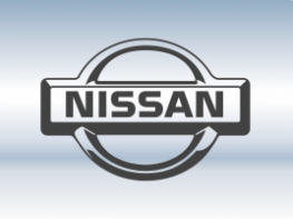 Наклейки на пороги Nissan
