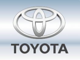 Наклейки на пороги Toyota