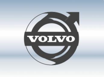 Накладки на задний бампер Volvo