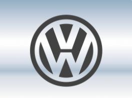 Накладки на задний бампер Volkswagen