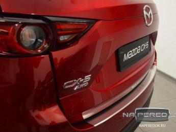 Накладка на задний бампер MAZDA CX-5 2 2017-2020