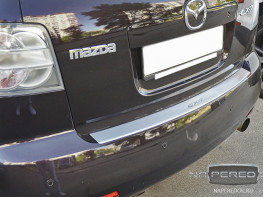 Накладка на задний бампер MAZDA CX-7 2007-2012