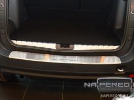 Накладка на задний бампер RENAULT Duster 2015-2018 (рестайлинг)