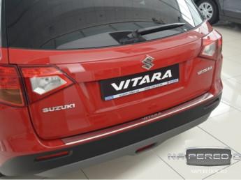 Накладка на задний бампер SUZUKI Vitara 2 2014-2018