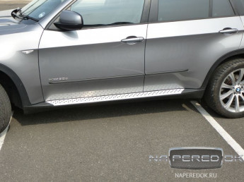 Пороги BMW X5 (E70) 2007-2012 (Original Style)