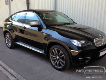 Пороги BMW X6 (E71) 2008-2014 (Original Style)