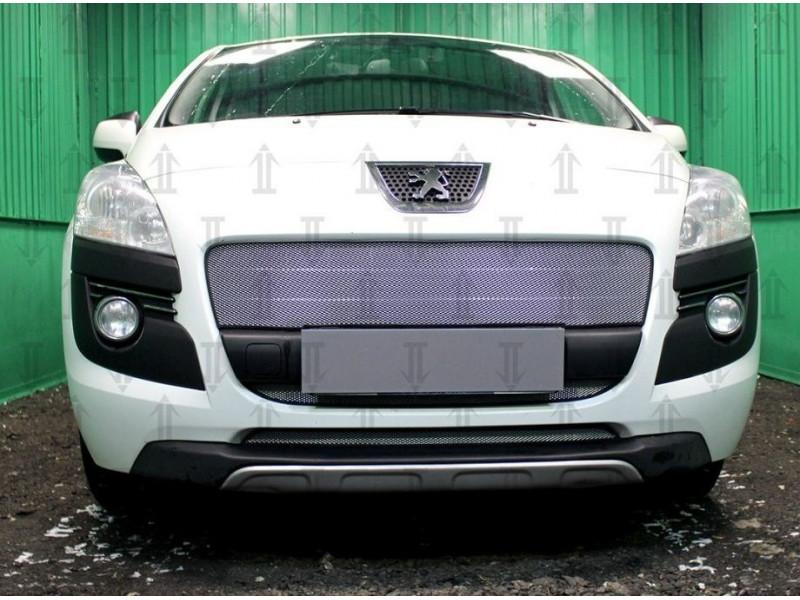 Защита радиатора Peugeot 3008 2009-2014