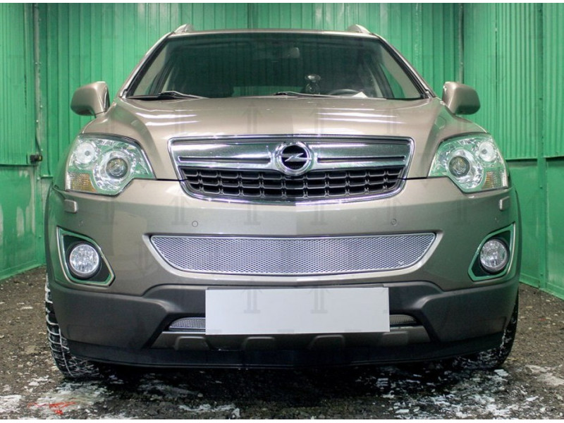 Защита радиатора ПРЕМИУМ  Opel Antara 2010-2016