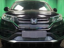 Защита радиатора  HONDA CR-V 4 (2.0) 2014-2016 (рестайлинг)