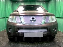 Защита радиатора ПРЕМИУМ NISSAN Pathfinder 3 2010-2014 рестайлинг