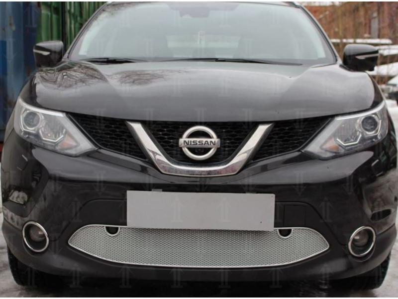 Защита радиатора ПРЕМИУМ Nissan Qashqai 2 2014-2017