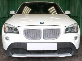 Защита радиатора ПРЕМИУМ BMW X1 1 (E84) 2009-2012