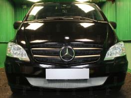 Защита радиатора Mersedes-Benz Vito 2 W639 2010-2014 (рестайлинг)