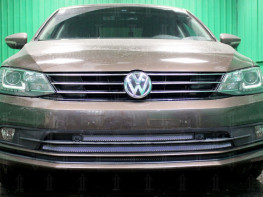 Защита радиатора Volkswagen Jetta 6 2015-2019 (рестайлинг)
