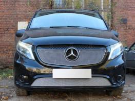 Защита радиатора ПРЕМИУМ Mercedes-Benz Vito 3 W447 2014-2017
