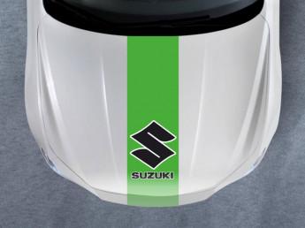 Наклейки на капот SUZUKI