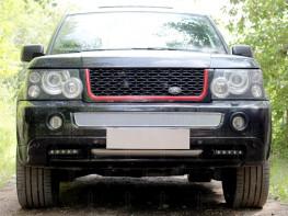 Защита радиатора ПРЕМИУМ LAND ROVER Range Rover Sport 2005-2009