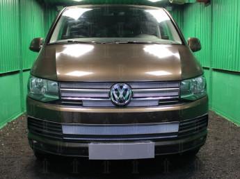 Защитная сетка радиатора VOLKSWAGEN T6 2015-2019 (Transporter, Multivan, Caravelle)