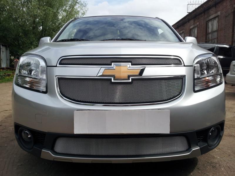 Защита радиатора Chevrolet Orlando 2011-2015