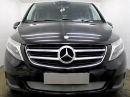 Защита радиатора Merсedes-Benz V-Klass 2 2014-2017