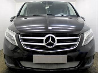 Защита радиатора Merсedes-Benz V-Klass 2 2014-2020