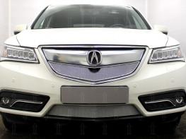 Защита радиатора ПРЕМИУМ Acura MDX 3  2013-2015