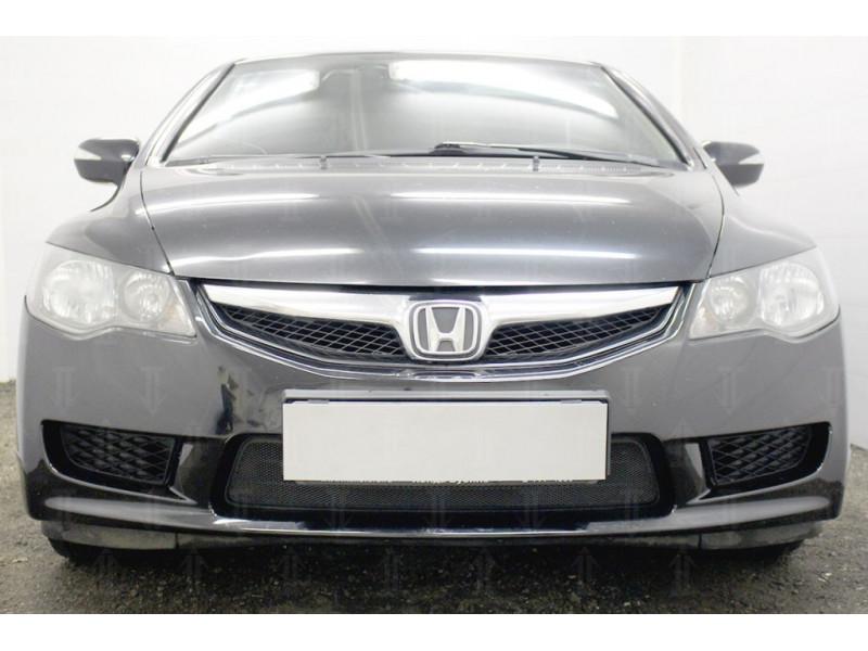 Защита радиатора HONDA Civic 8 (4D) 2008-2012 (рестайлинг)