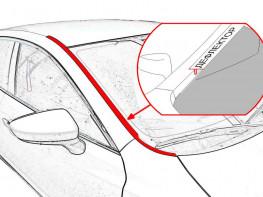 Дефлекторы лобового стекла SUBARU
