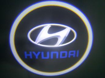 LED проекции Hyundai 5е поколение 7w