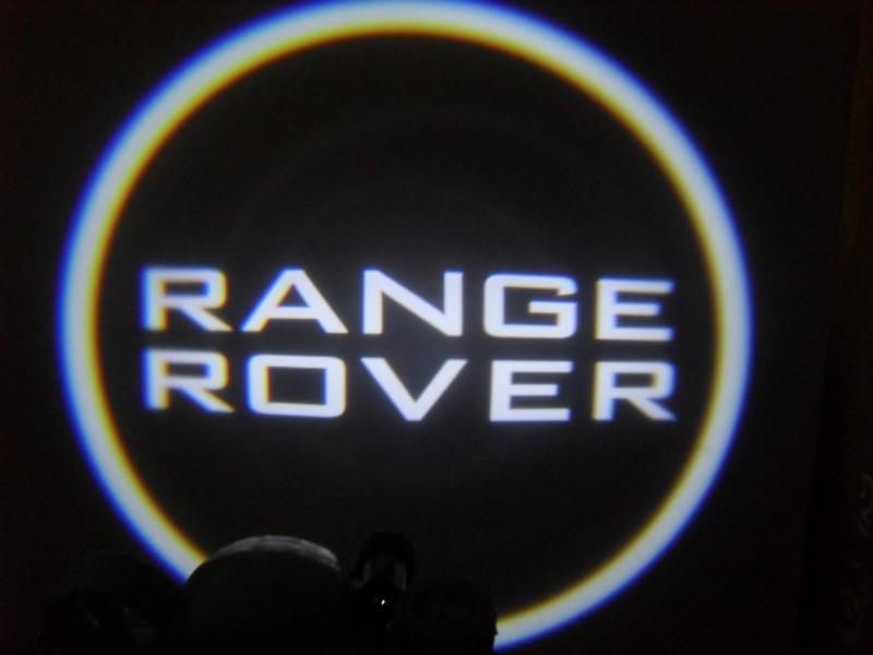 LED проекции Range Rover black 5е пколение 7w