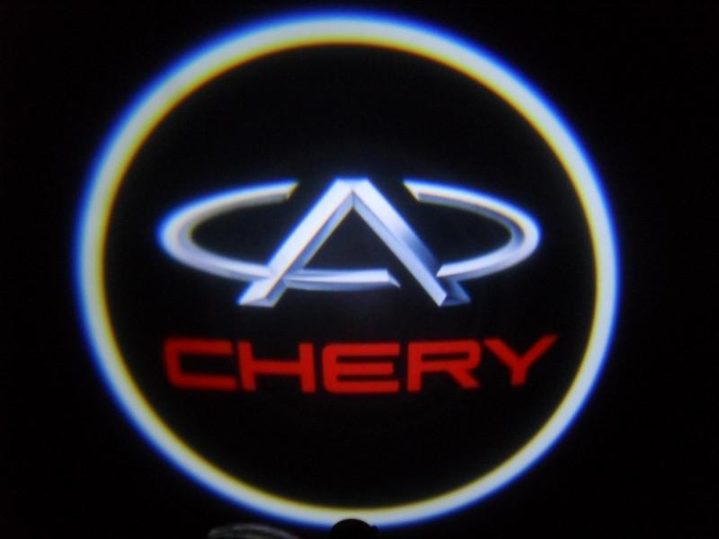 LED проекции Chery 5е поколение 7w