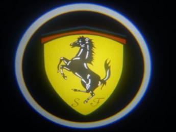 LED проекции Ferrari 5е поколение 7w