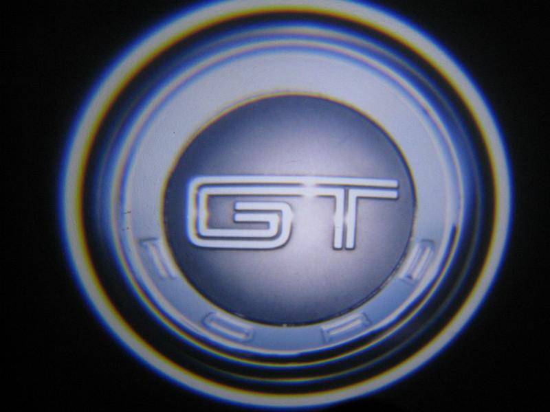 LED проекции GT mustang 5е поколение 7w