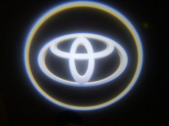 LED проекции Toyota black 5е поколение 7w