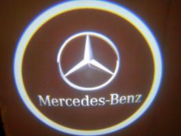 LED проекции Mercedes black  5е поколение 7w