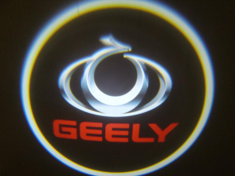 LED проекции Geely red 5е поколение 7w