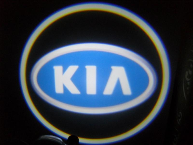 LED проекции KIA blue 5е поколение 7w