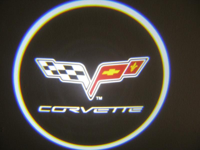 LED проекции Corvette 5е покление 7w