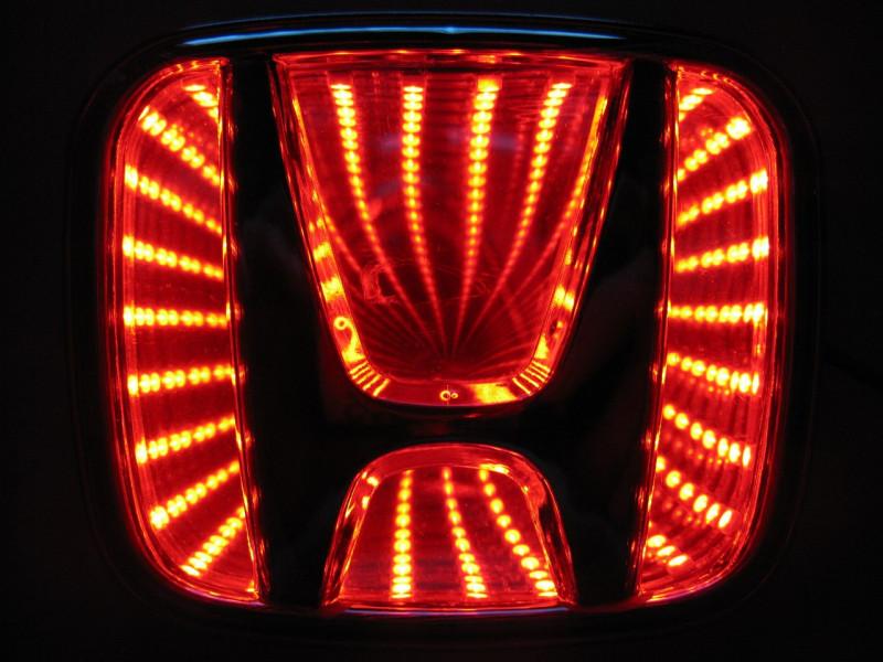 3D логотип Honda