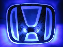 2D-подсветка логотипа Honda