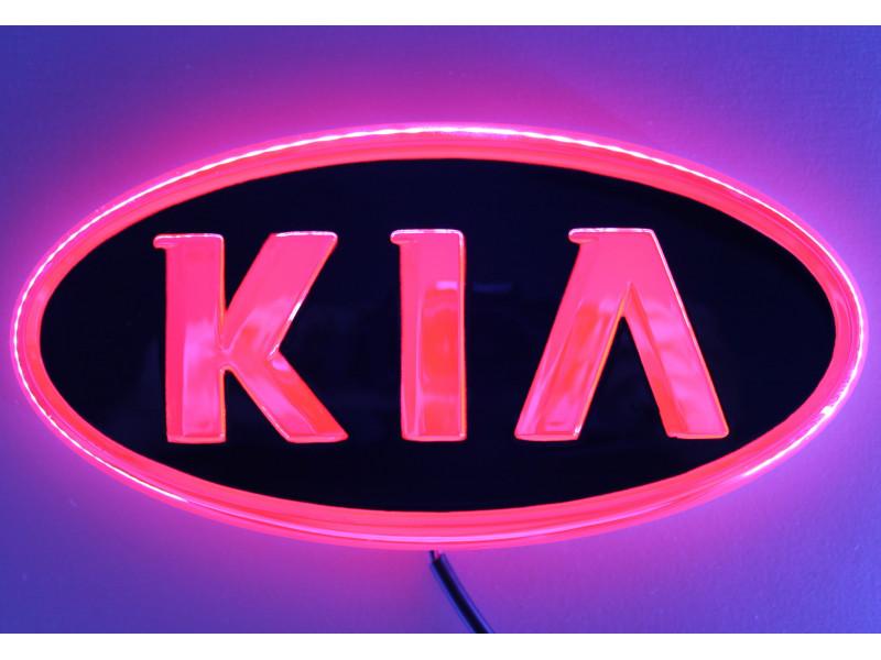 4D логотип Kia