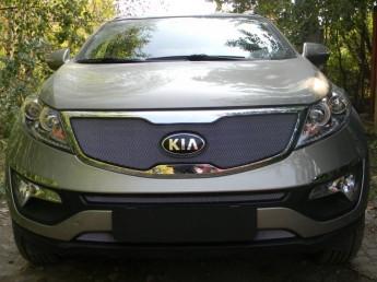 Защита радиатора KIA Sportage 3 2010-2014