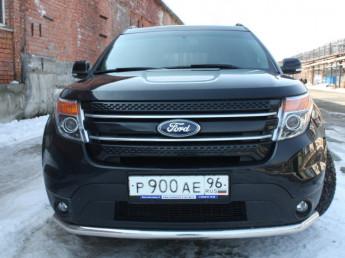 Защита передняя D 60,3 Ford Explorer 2011-
